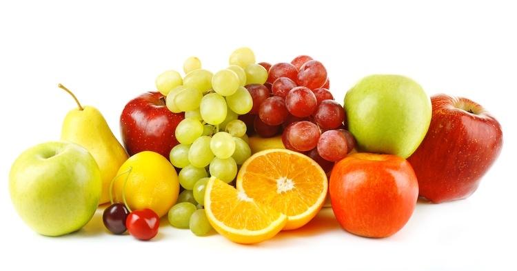 le vitamine contenute nella frutta