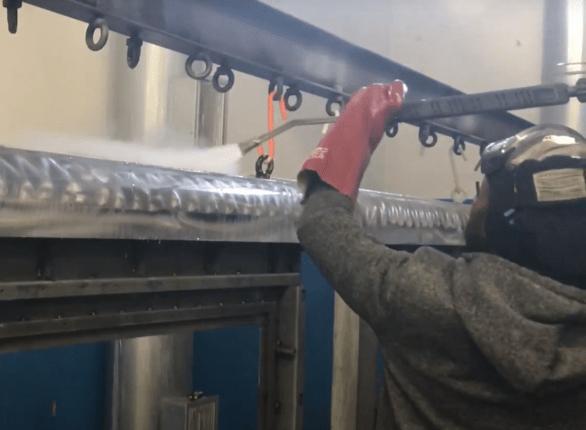 fosfatazione a vapore dei metalli
